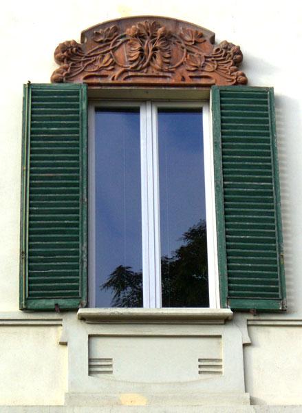 Liberty in italia architettura bologna - Finestre liberty ...