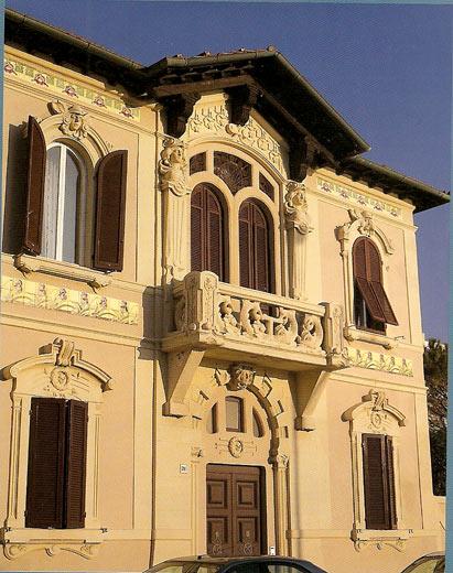 Arte liberty in italia architettura livorno for Architettura razionalista in italia