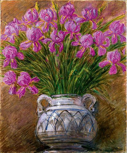 Gaetano previati opere ireos colline liguri for Immagini di fiori dipinti