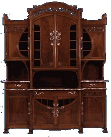 Arte liberty in italia ebanist - Art nouveau mobili ...