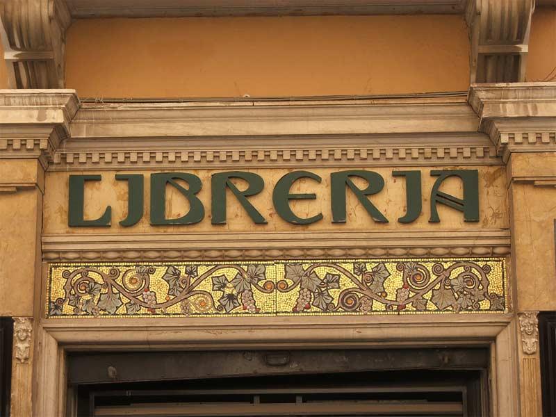 Libreria Liberty Prezzo : Home arti applicate insegne