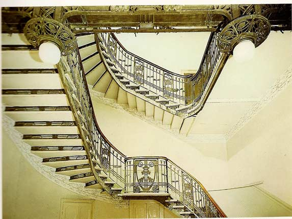 Liberty in italia architettura albergo san marco for Architettura razionalista in italia