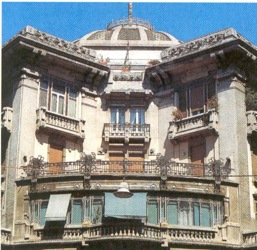 Arte Liberty in Italia - Napoli Liberty