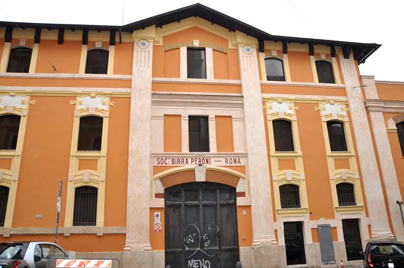 architettura ex stabilimento birra peroni roma