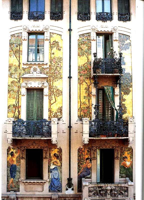 Mostra habitus abito habitat lo stile della liberta 39 dal blog di andrea - Casa stile liberty ...