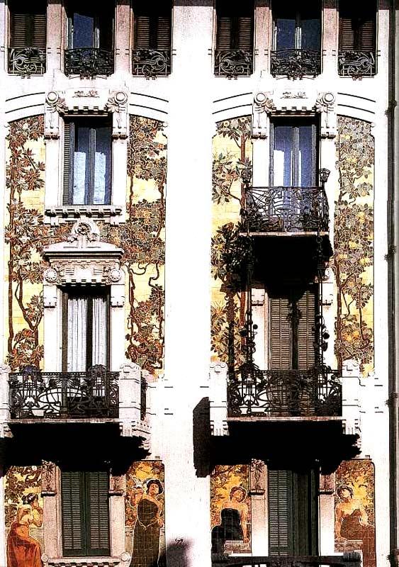 Casa galimberti milano liberty - Giochi di decorazione della casa ...